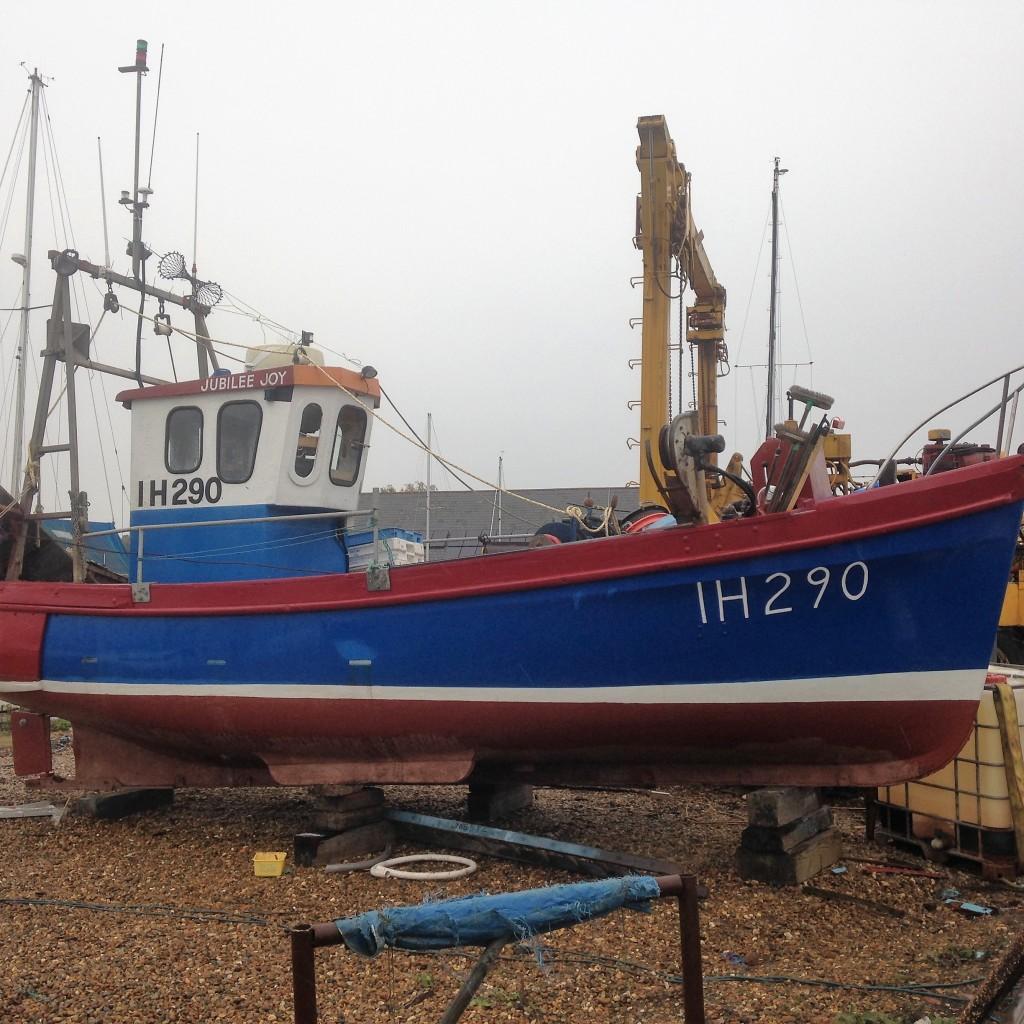 Life on the yard melton boatyard for Joy fishing tackle